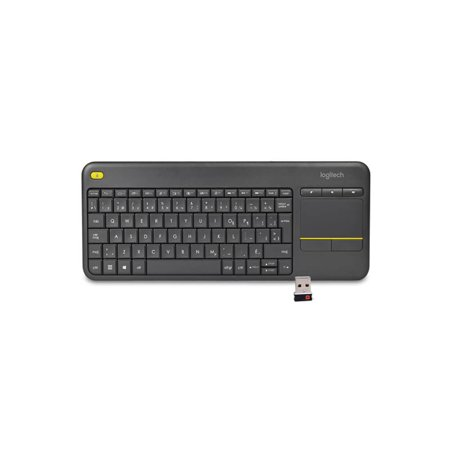 efb5a16c443 Refurbished Logitech Wireless Touch K400 Plus French Canadian Keyboard  w/3.5