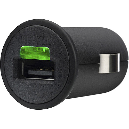 Belkin 2.1A Micro Car Charger for iPhone, iPod and iPad