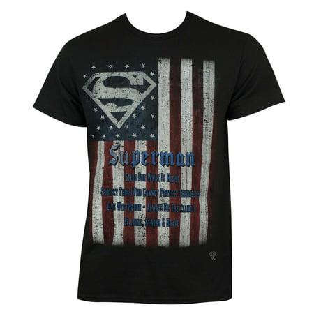 Superman Flag Tee Shirt