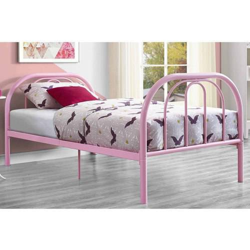 Mainstays Twin Metal Rainbow Bed, Multiple Colors