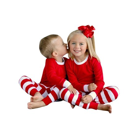 Starvnc Kids Baby Boy Girl Matching Sleepwear Pajamas Family Set