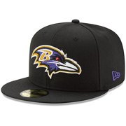 Baltimore Ravens New Era Omaha 59FIFTY Fitted Hat - Black