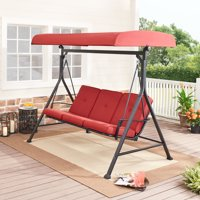 Mainstays Forest Hills 3 Person Steel Porch Swing