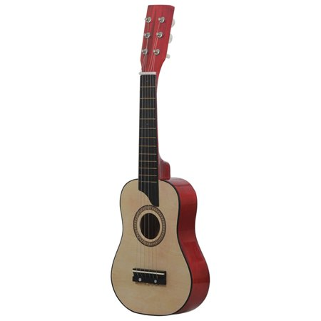 """New 25"""" 6 Strings Beginner Practice Acoustic Guitar with Carrying Bag Educational Musical Instrument Child Kids Gift Red /Coffee/Camel/Orange - image 2 of 7"""