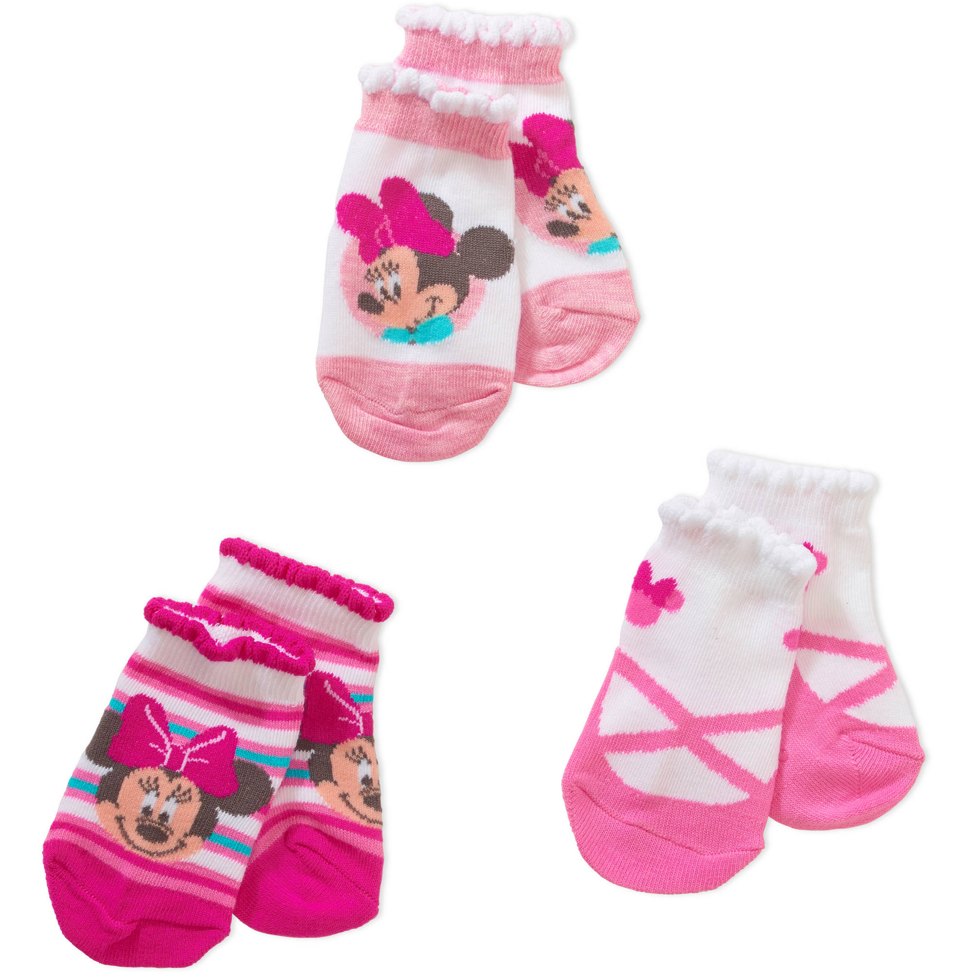 Minnie Mouse Baby & Toddler Socks & Booties