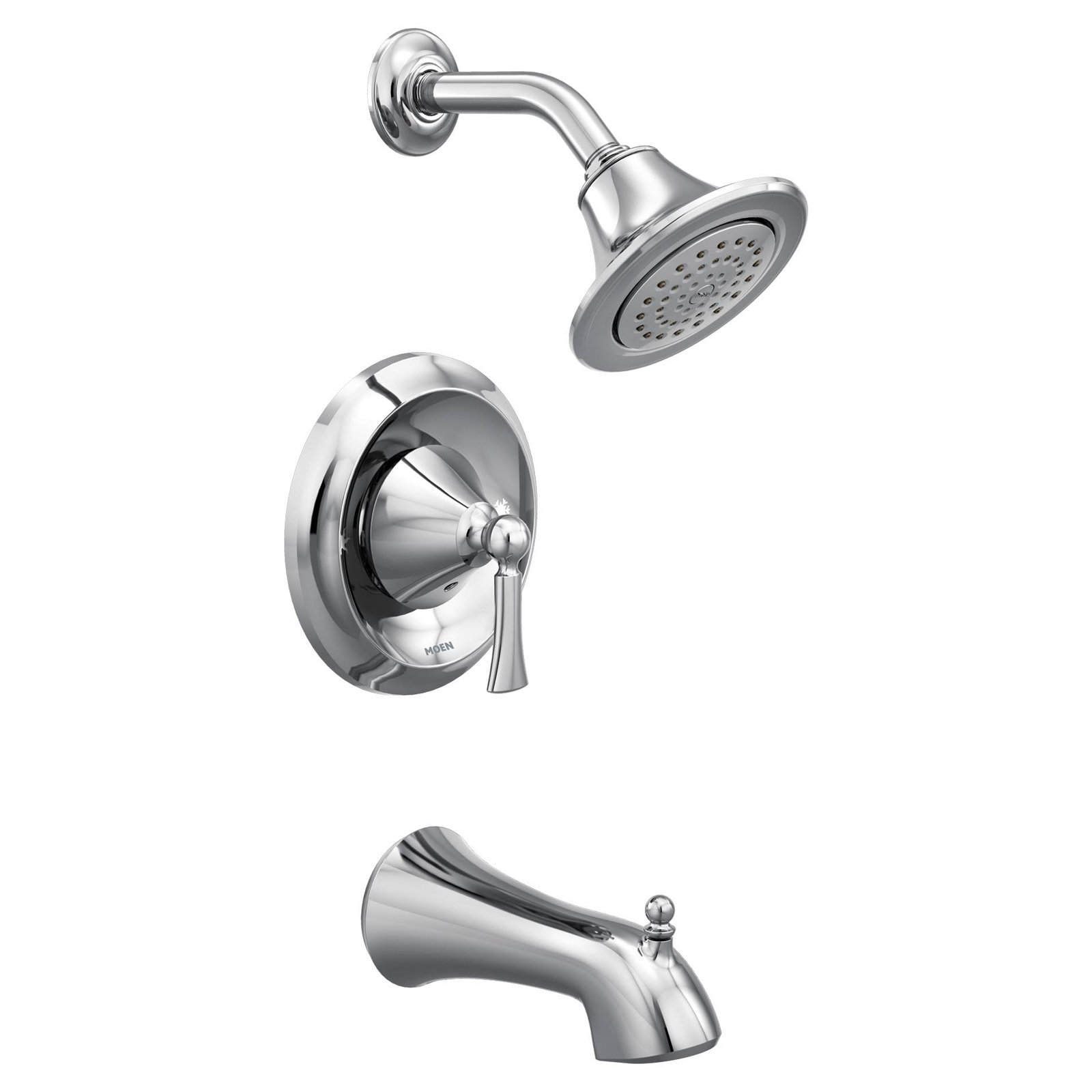 Moen T4503 Wynford Bath And Shower Faucet With Posi Temp