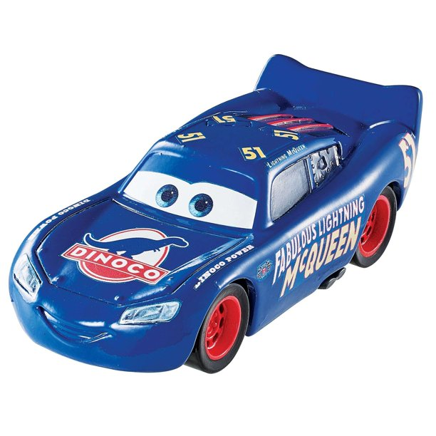 Disney Pixar Cars 3 Fabulous Lightning Mcqueen Vehicle With Bonus