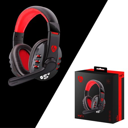 Wireless Gaming Headset Headphones With Microphone For PC/Phone For
