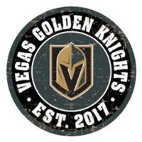 Vegas Golden Knights 22'' Vintage Wall Sign