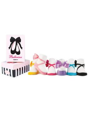 Baby Girls' Ballerina Socks 6-pack (0-12 mo.)