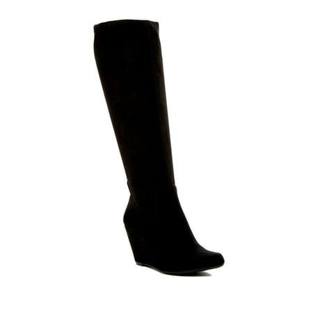 Jessica Simpson Reiki Knee High Boot - WOMEN - BLACK SUEDE 0