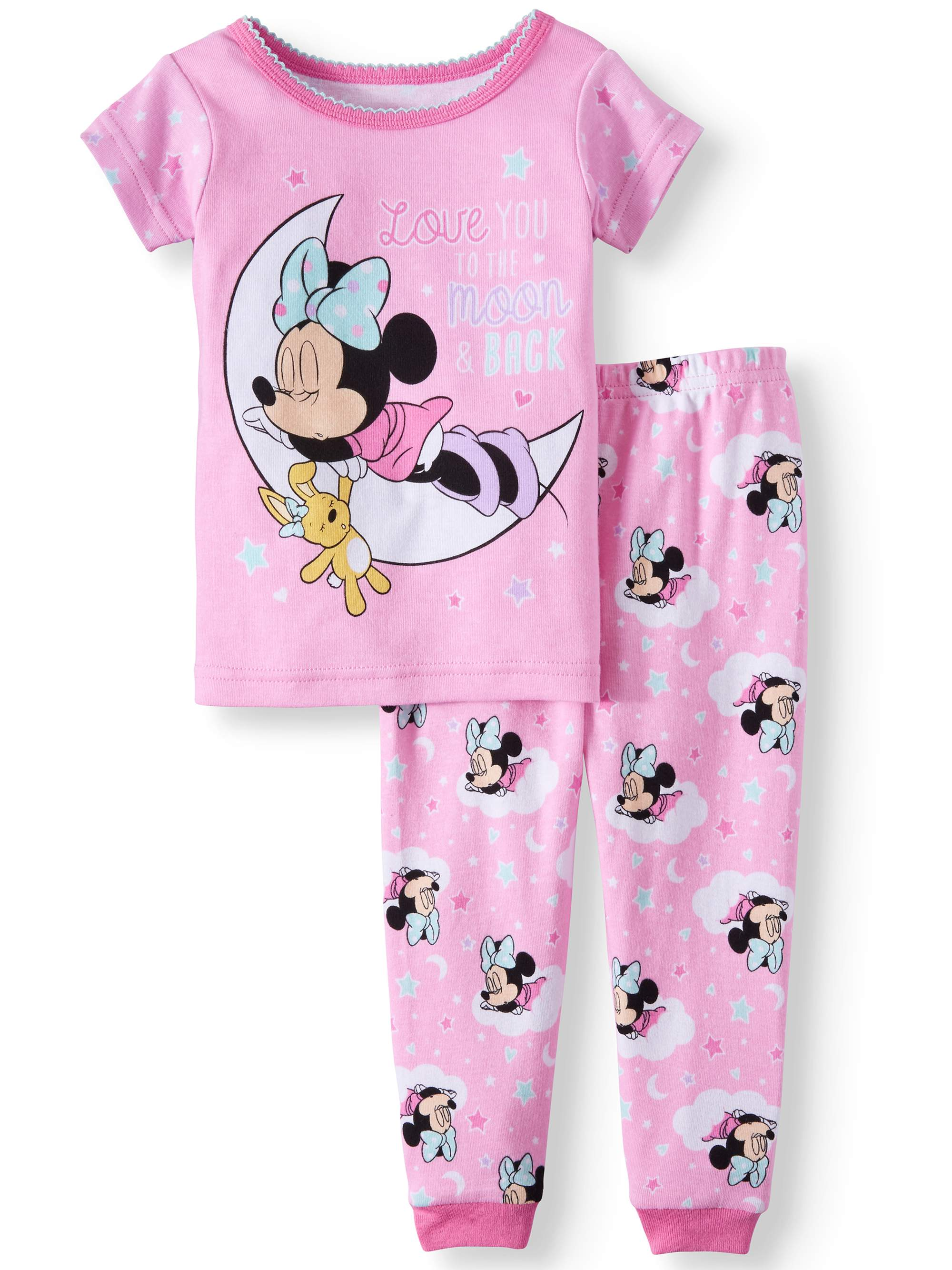 Minnie Mouse Pajamas, 2pc Set (Baby Girls)