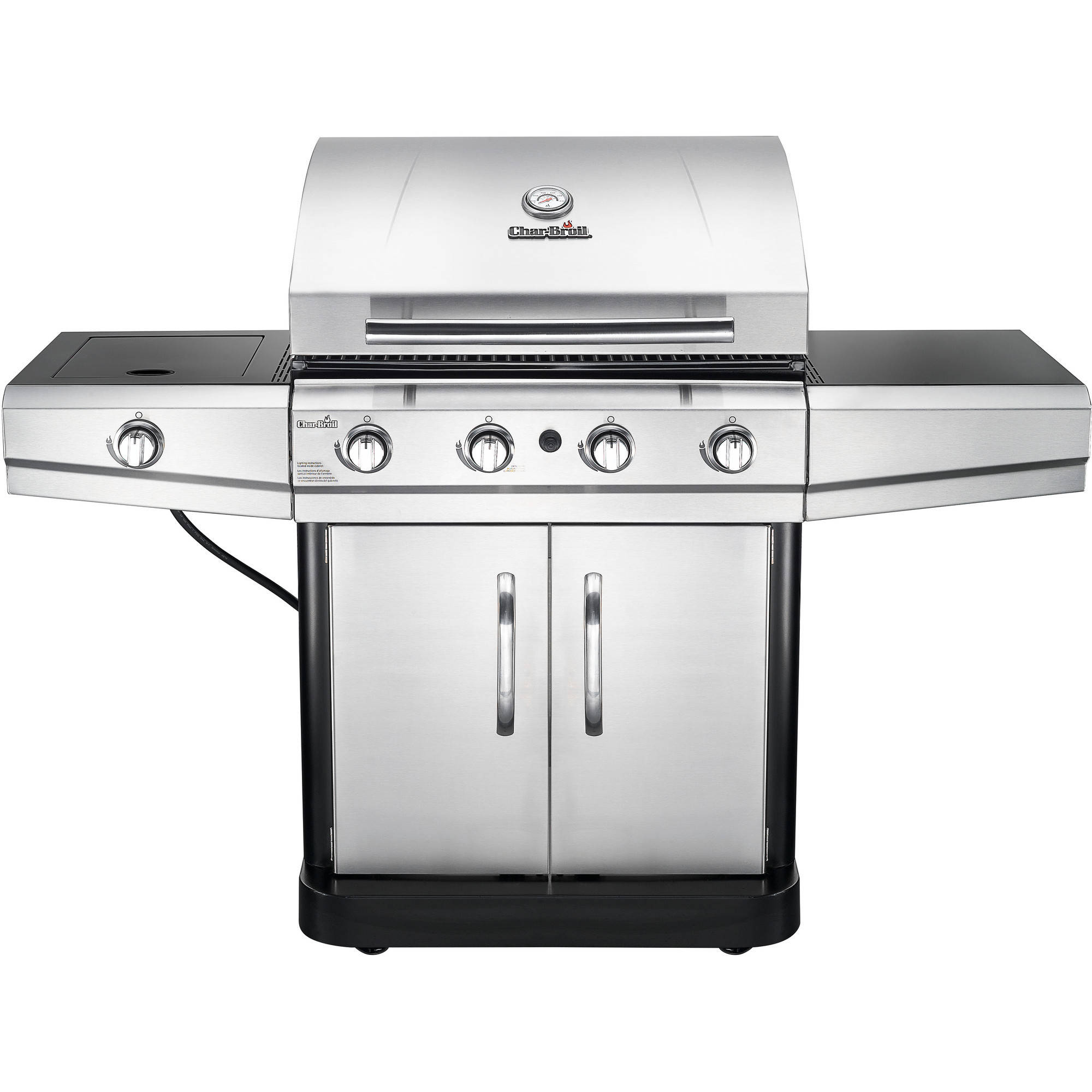 Char-Broil 480 48,000 BTU 4-Burner with Side Burner