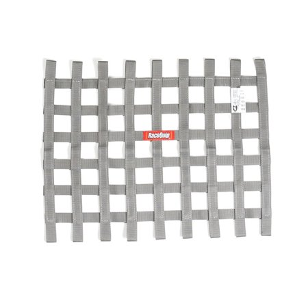 RACEQUIP 18 x 24 in Rectangle Platinum Window Net P/N 725065