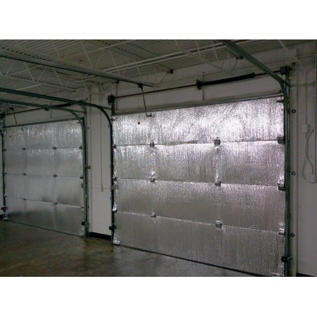 - SmartGarage - 18' W x 7' H Reflective Garage Door Insulation KIT - TWO CAR GARAGE DOOR