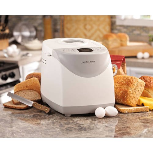 Hamilton Beach HomeBaker 2 Pound Automatic Breadmaker with Gluten Free Setting | Model# 29881