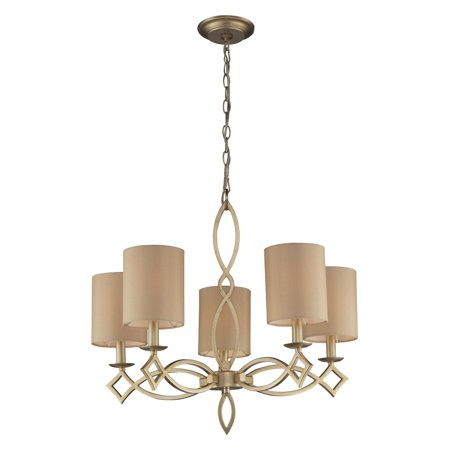 ELK Lighting Estonia 31127/5 Chandelier - Aged Silver - 25W in.