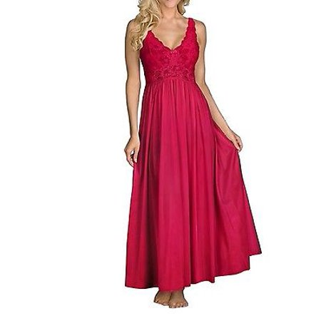 Shadowline Women's Silhouette 53 Inch Sleeveless Long Gown - 31737](Long Stripper Gowns)