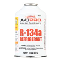 Certified AC Pro Auto Air Conditioner R-134a Refrigerant, 12 oz, 301CA