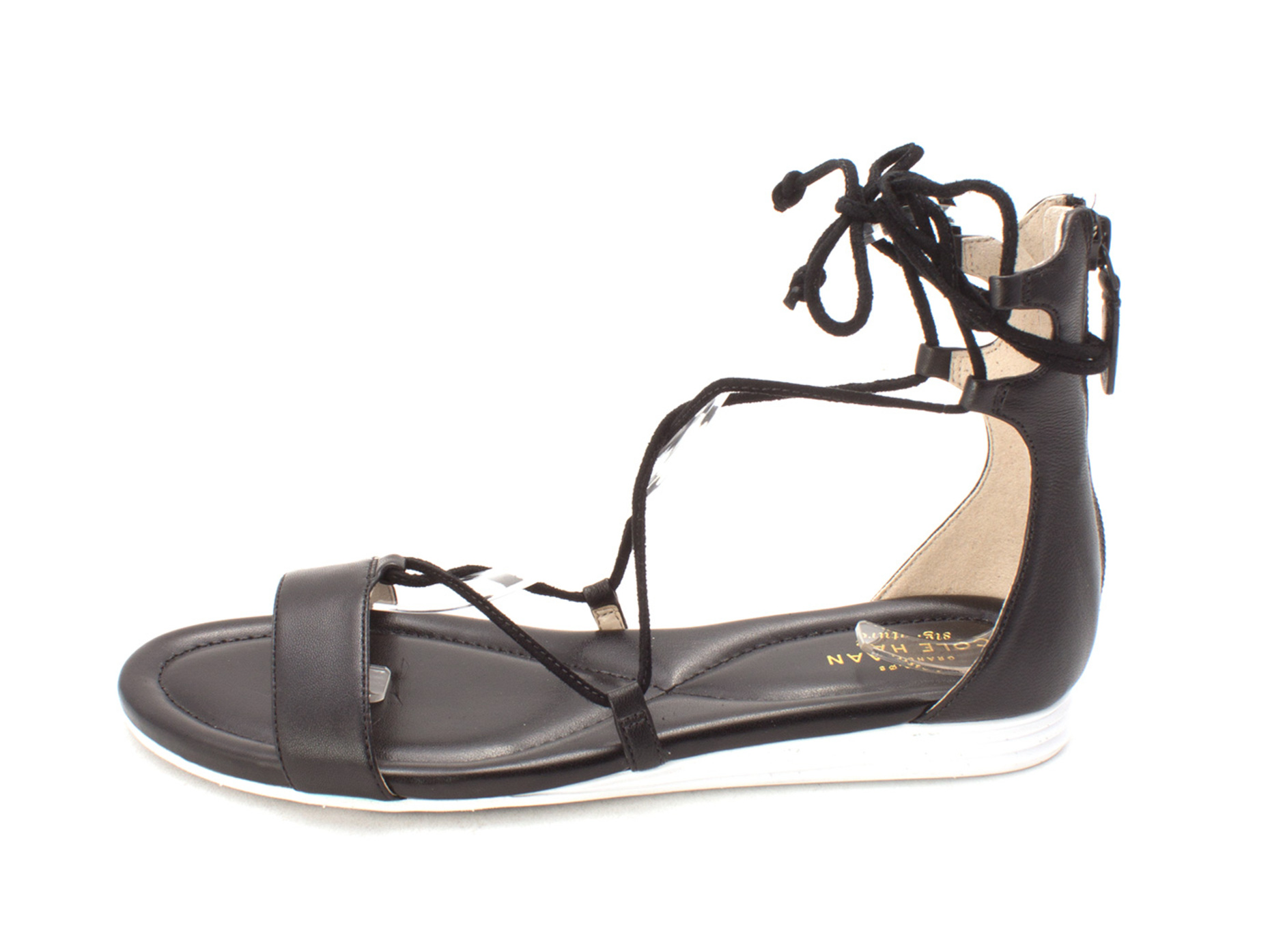 Cole Haan Womens Original Grand Sandals Open Toe Casual Strappy Sandals Grand bedf20