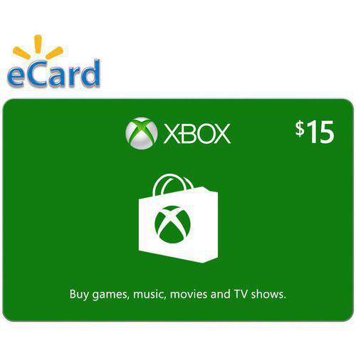 Xbox Digital Gift Card $15
