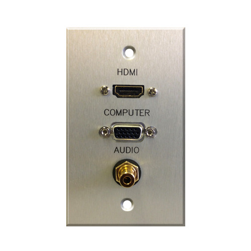 Comprehensive Single Gang Wallplate