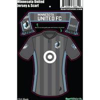 0a5b1cc59391 Product Image Minnesota United FC Scarf And Jersey Sticker - No Size