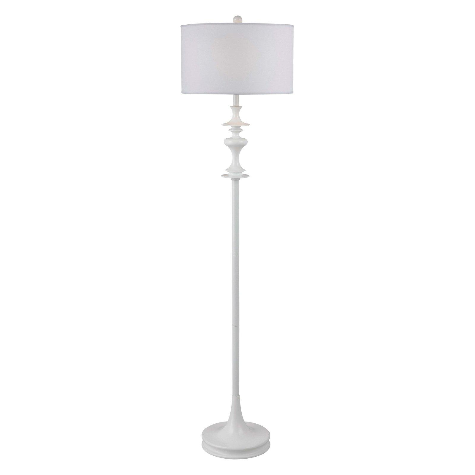 Kenroy Home Claiborne Floor Lamp, White Gloss by Kenroy Home