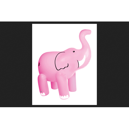 BigMouth Inc Vinyl Inflatable Pink Elephant Sprinkler