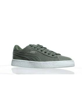 d186459fc20e Product Image PUMA Mens Basket Classic Agave Green Fashion Sneaker Size 5