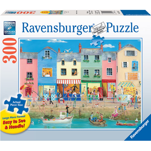 Ravensburger Large Format Down by the Sea Puzzle, 300 Pieces
