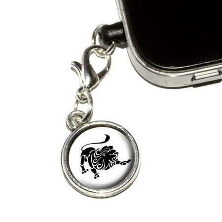 Leo The Lion Zodiac Horoscope Mobile Phone Charm