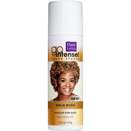 2 Pack - Dark and Lovely Go Intense Color Sprays, Gold Rush 2