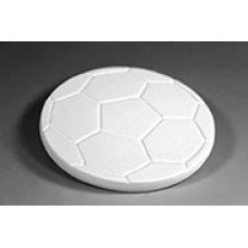 Ceramic bisque unpainted unfinished bi1356 soccer ball coaster 4