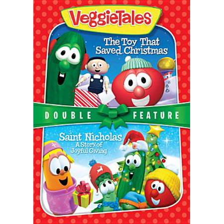 veggie tales the toy that saved christmas st nicholas dvd - The Toy That Saved Christmas