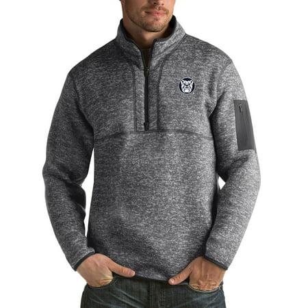 Bustier Jacket (Butler Bulldogs Antigua Fortune Big & Tall Quarter-Zip Pullover Jacket - Charcoal)