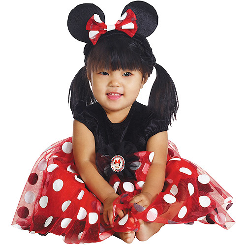 Red Minnie Mouse Infant Halloween Costume