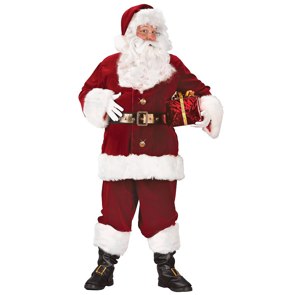 Fun World Super Deluxe Santa Suit Adult Costume - XX-Large