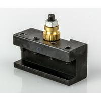 "#1 Mini Quick Change Turning & Facing Tool Post Holder CNC 7x10, 12, 14"" Lathe"
