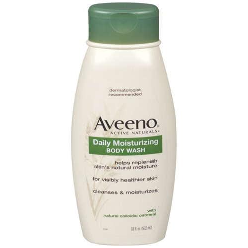 Aveeno Active Naturals Daily Moisturizing Body Wash, 18 fl ...