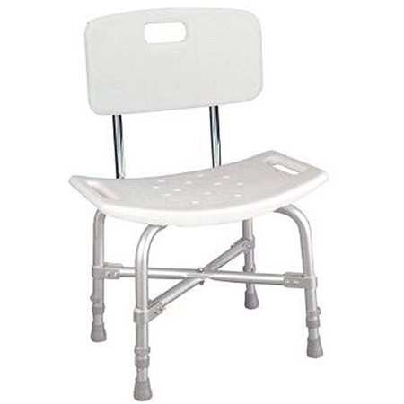 Heavy Duty Shower Chair with Back - Walmart.com