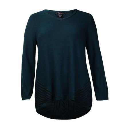 Style & Co. Women's V-Neck Knit Long Sleeve Sweater
