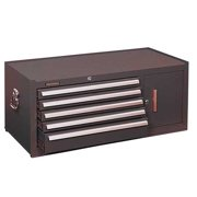 KENNEDY 305XB Top Chest, 39-3/8 In. W, 18 In. D, Brown