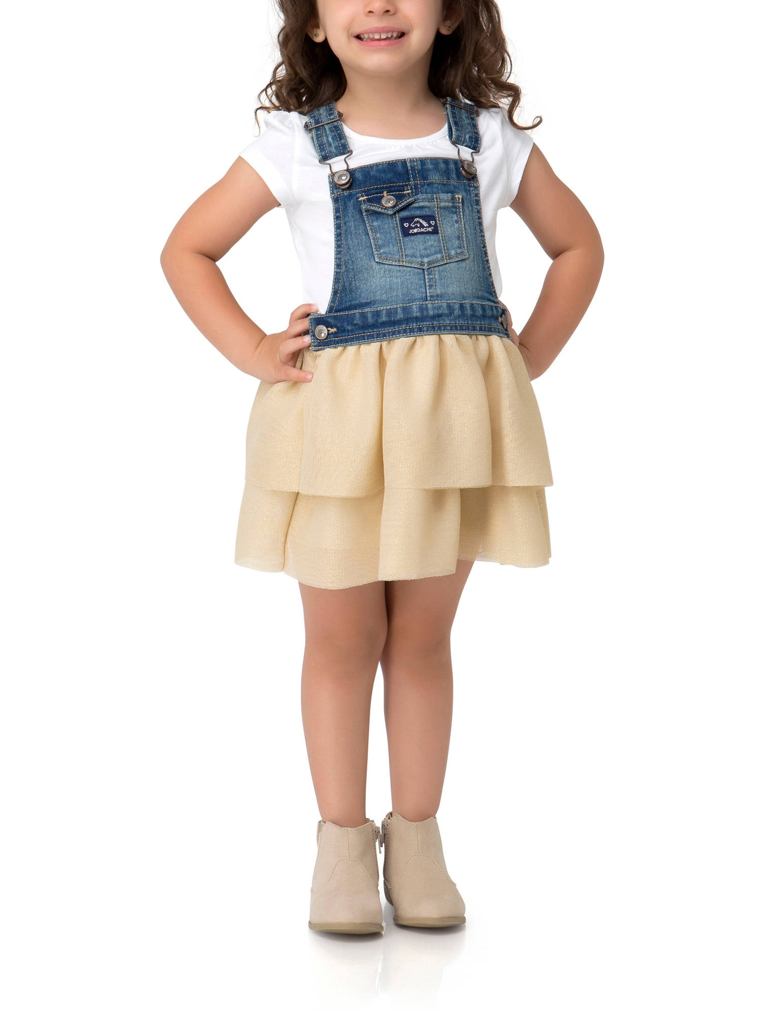 Toddler Girl Tiered Ruffle Skirtall