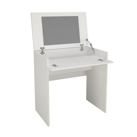 Nexera Paris Vanity/Desk, White - Paris Double Vanity