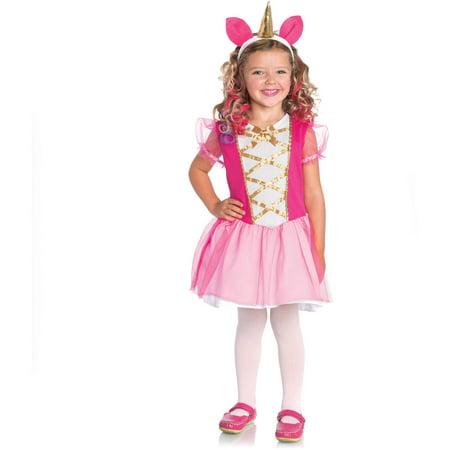 Unicorn Princess Toddler Halloween Costume - Walmart.com