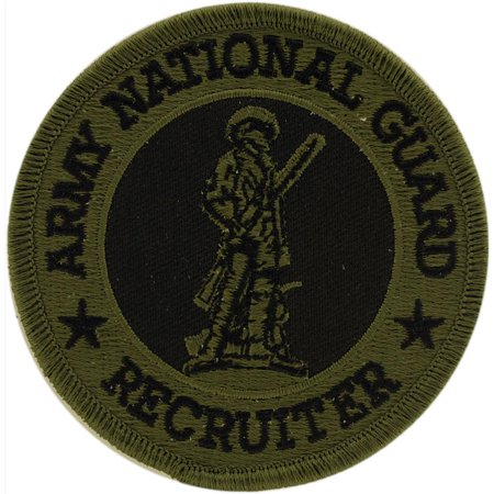 National Guard Acu Patch Foliage - U.S. Army National Guard Recruiter Patch Green