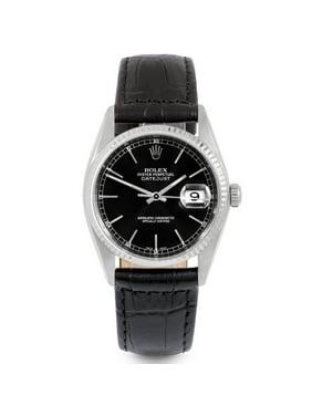 Pre-Owned Rolex Datejust 16014 Steel 36mm  Watch (Certified Authentic & Warranty)
