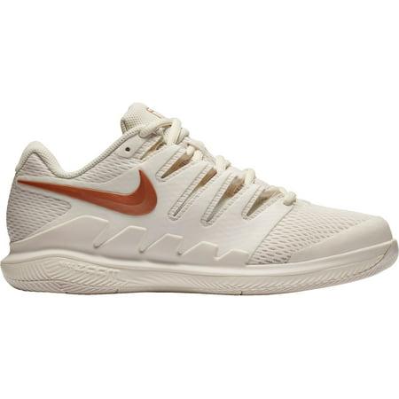 Nike Women's Air Zoom Vapor X Tennis Shoes, Metallic Rosegold, Medium