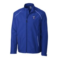 70d1c287814 Product Image Texas Rangers Cutter   Buck Big   Tall WeatherTec Beacon Full  Zip Jacket - Royal